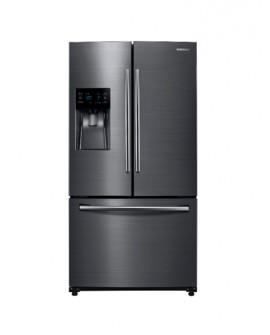 Samsung - Refrigerador de 26 pies cúbicos y 3 puertas - Negro