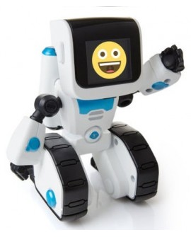 Wowee Robot Coji Emoji Blanco - Envío Gratuito