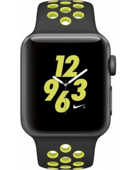 Apple Apple Watch Nike + 38mm Aluminio Banda Negra/Volt - Envío Gratuito