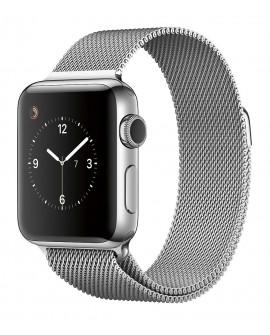 Apple Apple Watch Series 2 de 42 mm con Cuerpo de Acero Inoxidable y Correa Estilo Milanés Plata Acero Inoxidable - Envío Gratui