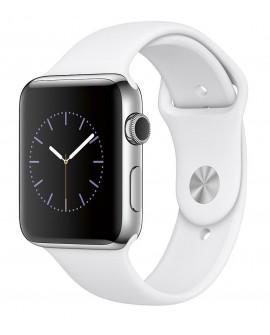 Apple Apple Watch Series 2 de 42 mm con Cuerpo de Aluminio y Correa Deportiva Blanco Plata - Envío Gratuito