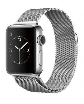 Apple Apple Watch Series 2 de 38 mm con Cuerpo de Acero Inoxidable y Correa Estilo Milanés Plata Acero Inoxidable - Envío Gratui