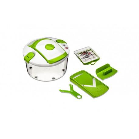 Genius - Set cortador de ensaladas Salad Chef - Verde - Envío Gratuito
