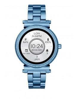 Michael Kors Smartwatch Sofie Pave Azul - Envío Gratuito