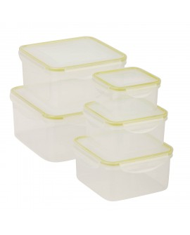 Honey Can Do Set de contenedores chicos con 10 piezas