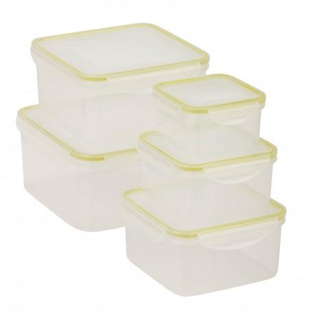 Honey Can Do Set de contenedores chicos con 10 piezas - Envío Gratuito