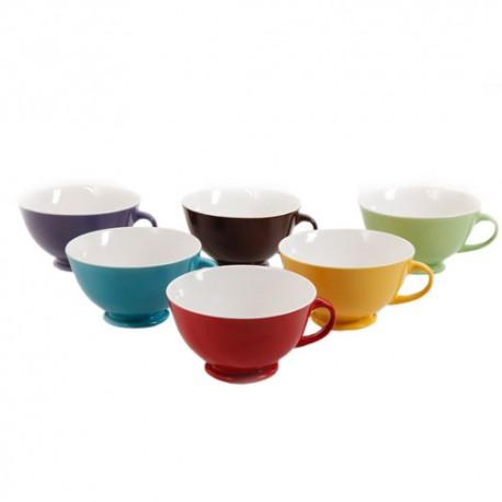Mr. Coffee Set de 6 tazas de 23 onzas Colores variados - Envío Gratuito