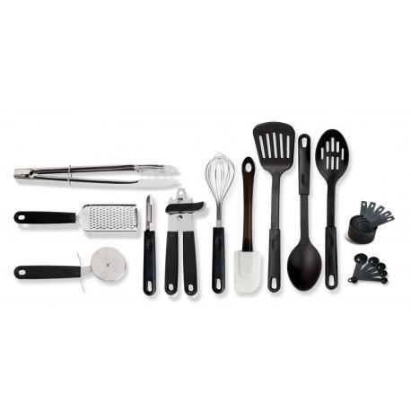 Gibson Combo set de utensilios con 20 piezas Negro - Envío Gratuito