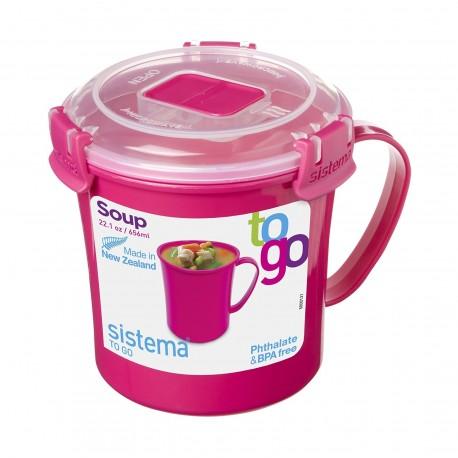 Sistema To Go Taza para sopa hermética de 656 ml Distinto Colores - Envío Gratuito