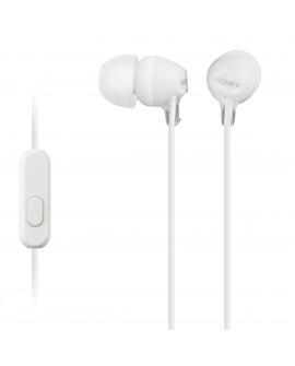 Sony Audífonos MDR-EX14AP Blanco - Envío Gratuito