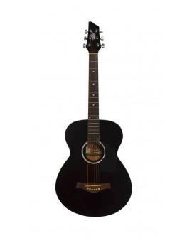 Oscar Schmidt Guitarra electroacústica OA10E Negro - Envío Gratuito