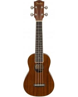Fender Ukulele Seaside Soprano Natural - Envío Gratuito