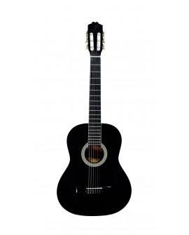 La Sevillana Guitarra clásica A 2 BK Negro - Envío Gratuito