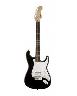 Squier Guitarra eléctrica Bullet Strat con tremolo Negro - Envío Gratuito