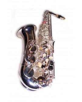Kilngt Saxofón alto Eb Plata - Envío Gratuito