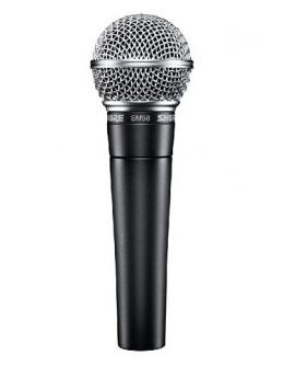 Shure Micrófono vocal profesional SM58 LC Negro - Envío Gratuito