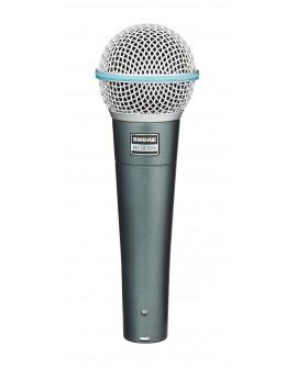 Shure Micrófono vocal BETA58A Negro - Envío Gratuito