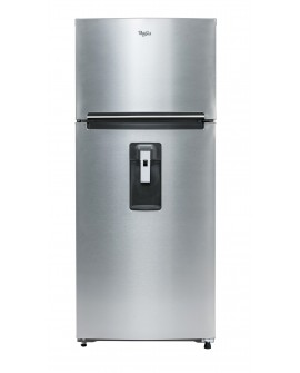 Whirlpool Refrigerador de 16 Pies cúbicos con despachador de agua Plata