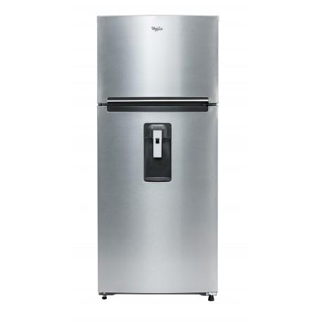 Whirlpool Refrigerador de 16 Pies cúbicos con despachador de agua Plata - Envío Gratuito