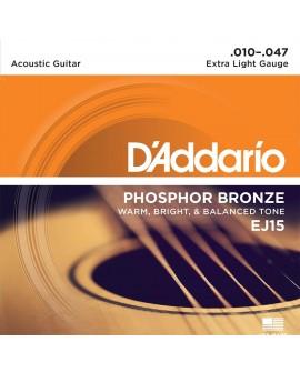 D'Addario Cuerda para guitarra Bronce - Envío Gratuito