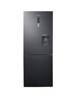 Samsung Refrigerador de 16 pies cúbicos con congelador inferior Negro