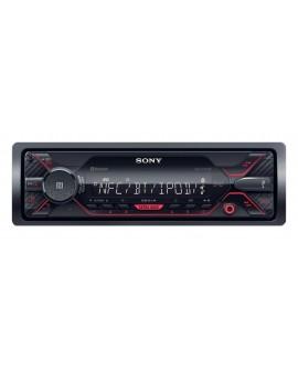 Sony Autoestéreo con bluetooth, USB, NFC, AUX y sin mecanismo DSX-A410BT Negro - Envío Gratuito