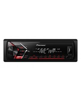 Pioneer Autoestéreo con entrada USB y auxiliar MVH-S105UI Negro - Envío Gratuito