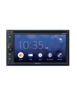 """Sony Autoestéreo con bluetooth, DVD y pantalla de 6.4"""" XAV-AX200 Negro - Envío Gratuito"""