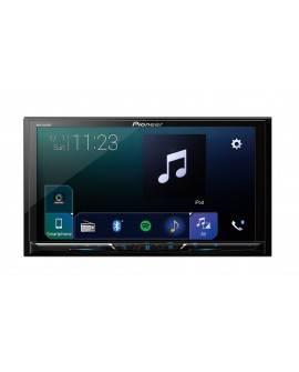 """Pioneer Autoestéreo de 2 DIN con Bluetooth y pantalla de 7"""" AVH-Z5050BT Negro - Envío Gratuito"""