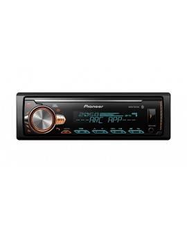Pioneer Autoestéreo Bluetooth con USB MVH-X30BT Negro - Envío Gratuito
