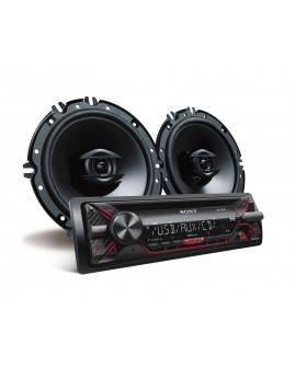 Sony Autoestéreo con CD y USB CXSG1216U Negro - Envío Gratuito