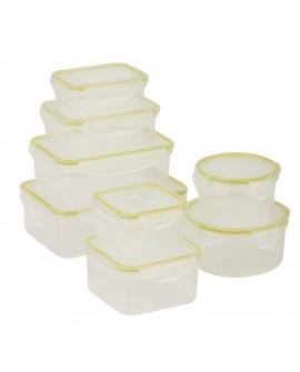 Honey Can Do Set de contenedores con 16 piezas