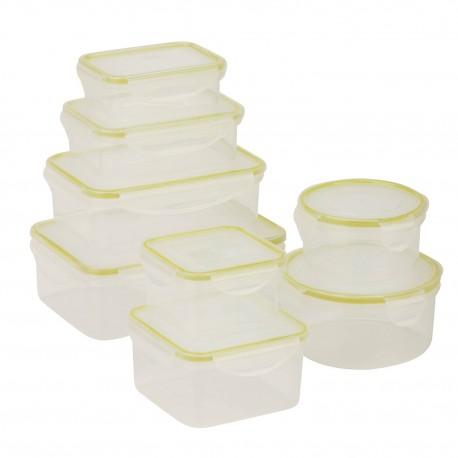 Honey Can Do Set de contenedores con 16 piezas - Envío Gratuito