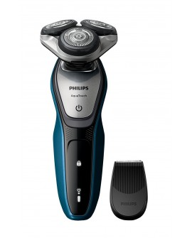 Philips Rasuradora 3HD S5420/04 Series 5000 Negro/Aqua - Envío Gratuito