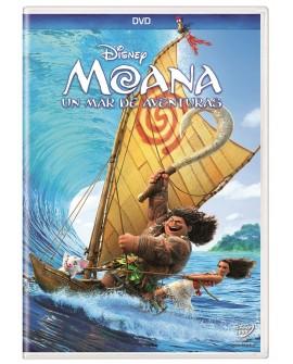 Moana: Un Mar de Aventuras (DVD) 2016 - Envío Gratuito