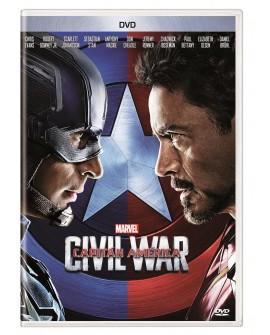 Capitán América: Civil War (DVD) 2016 - Envío Gratuito