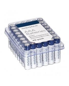 Insignia Pilas Alcalinas AAA 48 Pack Azul - Envío Gratuito
