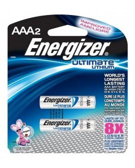 Energizer litio AAA - Envío Gratuito