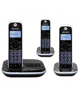Motorola Teléfono inalámbrico GATE4500CE-3 Negro - Envío Gratuito