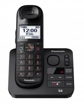 Panasonic Teléfono Inalámbrico TGL430 con identificador de voz Negro - Envío Gratuito