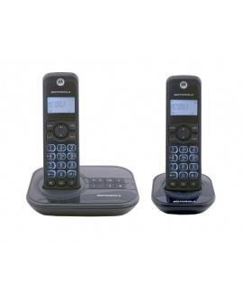 Motorola Teléfono inalámbrico GATE4500CE-2 con contestadora Negro - Envío Gratuito