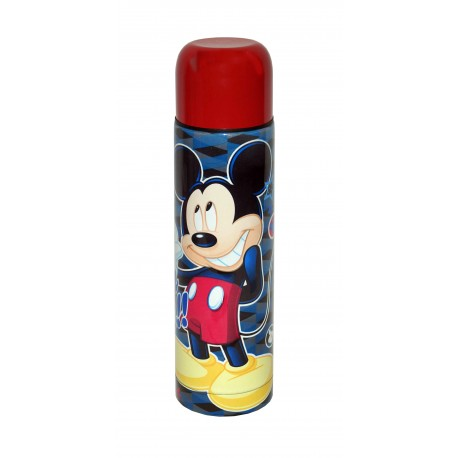 Siglo XXI Termo de Mickey de acero y 500 ml - Envío Gratuito