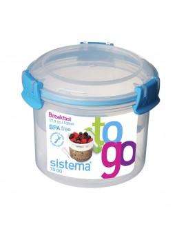 Sistema To Go Hermético para desayuno de 400 ml Distintos Colores