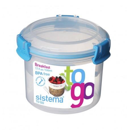 Sistema To Go Hermético para desayuno de 400 ml Distintos Colores - Envío Gratuito