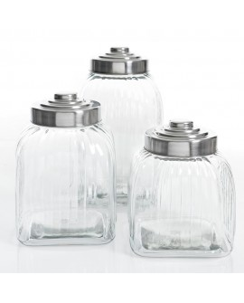 Gibson Set 3Pz Canister C/Tapa Acero