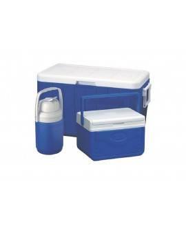 Coleman Combo Hielera 48 Qts Azul
