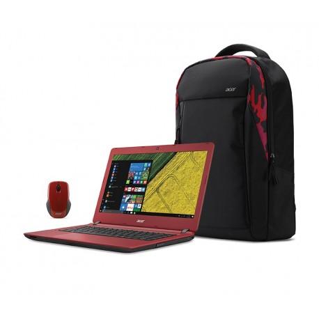 """Acer Laptop A314 31 C12Q de 14"""" Intel Celeron Memoria de 2 GB Disco duro de 500 GB Rojo - Envío Gratuito"""
